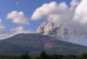 平成16年9月14日の小規模噴火