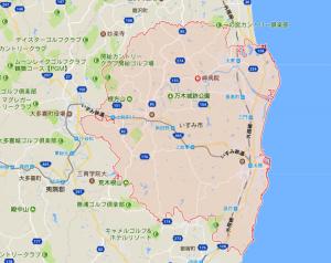 いすみ市の全域マップ