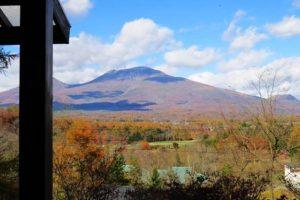 浅間山の裾野から見渡せる特等席