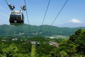 箱根駒ケ岳ロープウェイの眺望