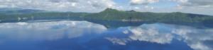 摩周湖の透明感