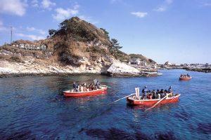 千葉県指定名勝の仁右衛門島