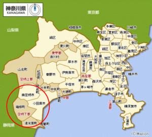 箱根リゾートエリアマップ(神奈川県)
