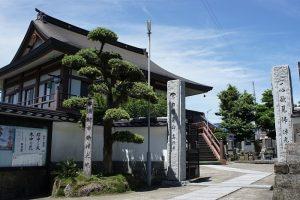 勝浦朝市発祥の地「高照寺」