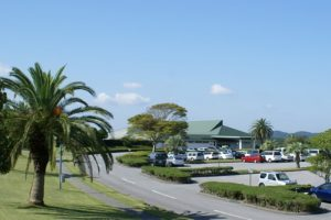 複合施設型別荘地内のゴルフ場