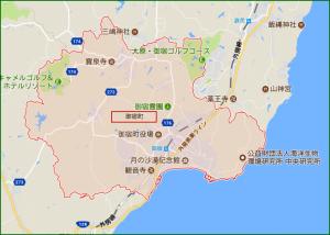 御宿町全体地図