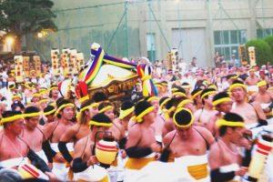 「大別れ式」で祭りのフィナーレへ