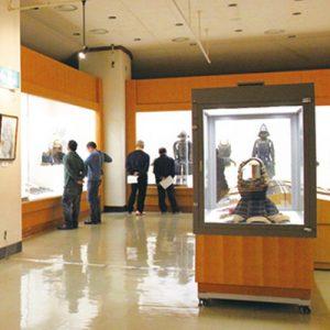 大多喜城分館の展示室