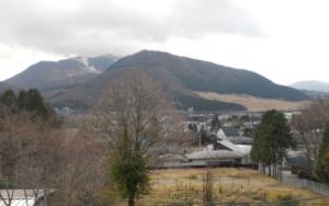 箱根仙石原別荘地の景観