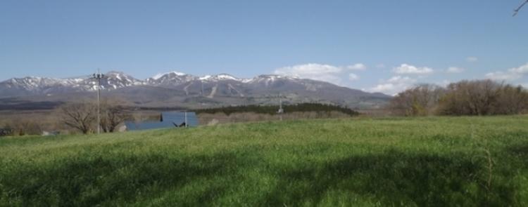 那須高原からの遠景
