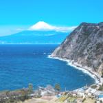 西伊豆からの富士山眺望