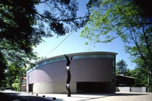 近代的建築の脇田美術館