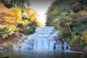 養老渓谷・粟又の滝 (秋)