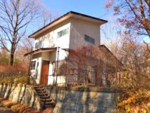 戸建て別荘事例1(那須町)