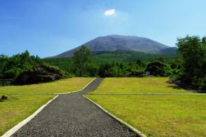 浅間園内の自然遊歩道