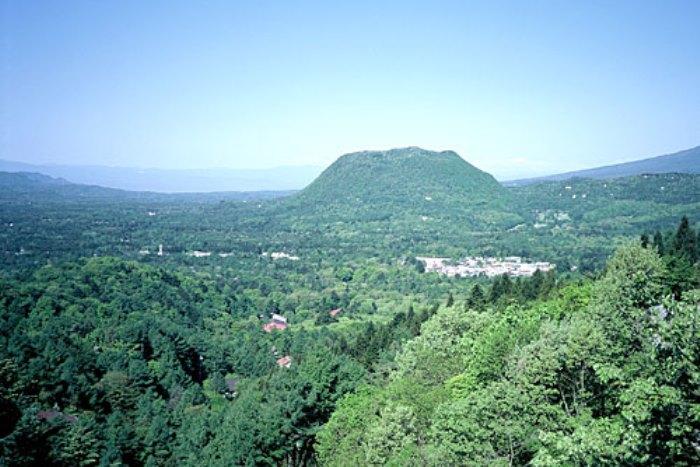 離山(はなれやま)の眺望