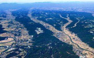 那須平和郷別荘地の空撮景観