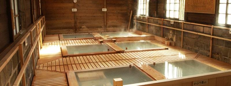 日本の名湯として全国的に知られ古い歴史を持つ「鹿の湯」