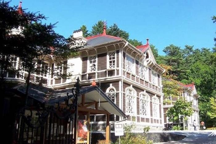 国の重要文化財・旧三笠ホテル