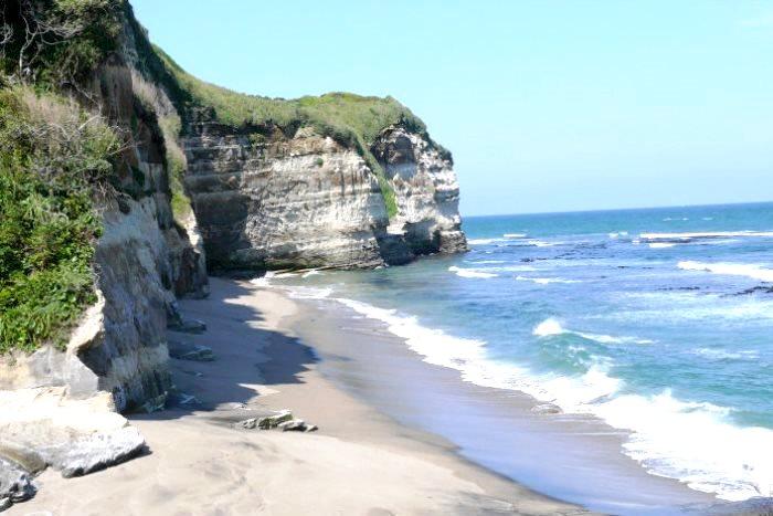 ドン・ロドリゴ上陸の地「田尻海岸」