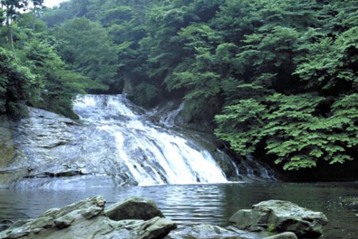 養老渓谷・粟又の滝 (初夏)